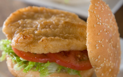 Delta Crispy Chicken Fillet Burger